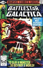 Battlestar Galactica 21 Marvel