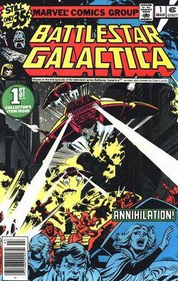 Battlestar Galactica 1 Marvel