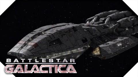 Battlestar Galactica Pegasus Arrives