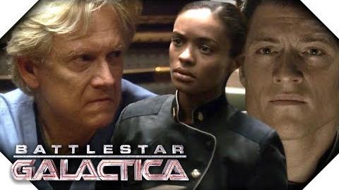 Battlestar Galactica Dr Robert is A Racist!