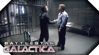 Battlestar Galactica Gaeta & Zarek's Deal