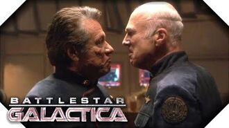 Battlestar Galactica Adama Vs Tigh
