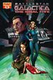 Battlestar Galactica The Final Five Issue 4 Rubi cover