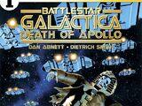 Battlestar Galactica: Death of Apollo Issue 1