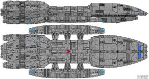 Battlestar Hermes (Jupiter Class)
