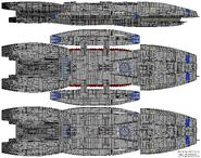 BS Columbia Galactica Type Block 1 Columbia Subclass 2