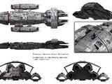 Poseidon Subclass Light Battlestar (D8)