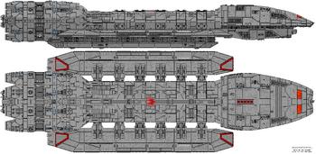 Battlestar Victorious (Illustrious Class)