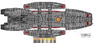 Galactica Type Block 1 Jupiter Class Hangar