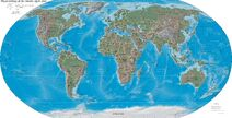 World map 2004 CIA large