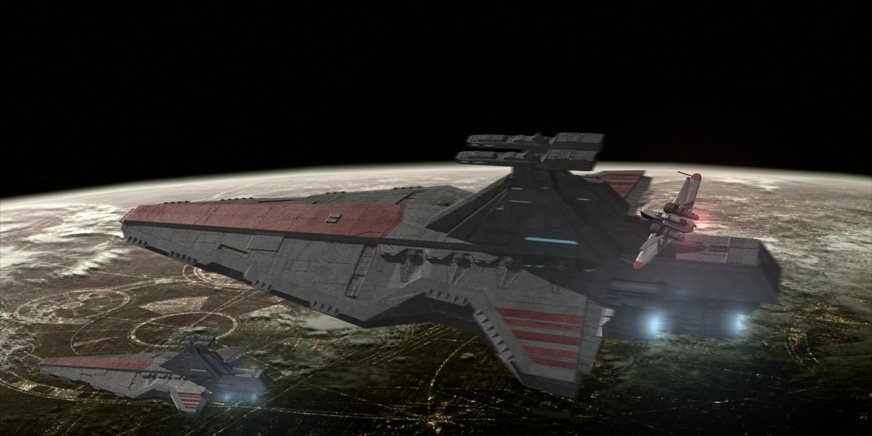 Venator Ii Class Galactic Republic Of United Planets Wiki Fandom