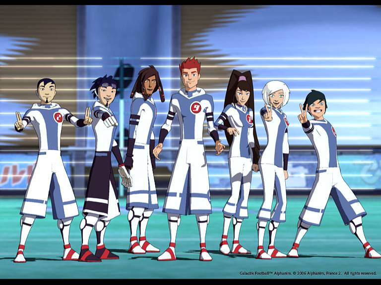 Is Galactik Football An Anime