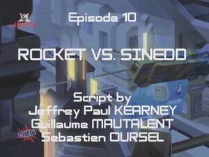 Rocket vs Sinedd
