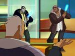Galactik Football Aarch about to be raped