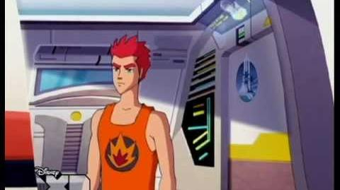 Galactik Football Season 3 Episode 7- Fathers and Sons (English)