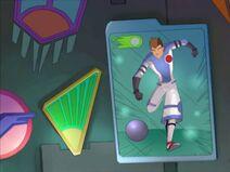 Galactik Football Aarch Poster Football Run