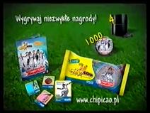 Galactik Football Chipicao Prizes Poland Commercial