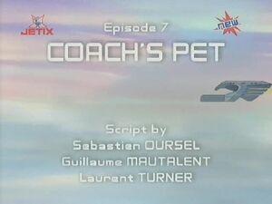 Coach's Pet