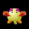 Galaga '88 enemy opening chick