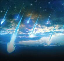 Comet-rain
