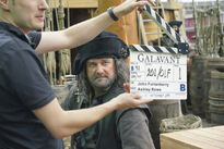 Galavant A New Season BTS Hugh Bonneville 03