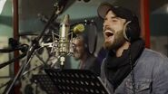 Galavant Timothy Omundson and Joshua Sasse in Recording Studio 02