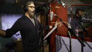 Galavant Timothy Omundson and Joshua Sasse in Recording Studio 01