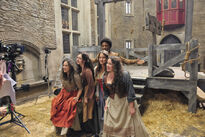 Galavant A New Season Luke Youngblood and Bachelorettes