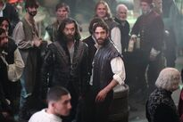 Galavant Off With His Shirt Timothy Omundson Joshua Sasse 01