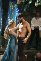 Galavant Off With His Shirt Kylie Minogue Joshua Sasse 02