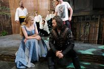 Galavant Off With His Shirt Kylie Minogue and Timothy Omundson 01