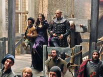Galavant Luke Youngblood Mallory Jansen Vinnie Jones New Season