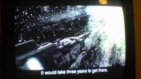 Galaga destination earth part 1 intro remake