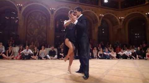 Sebastian Arce & Mariana Montes at Tango Amadeus 2013 (1) - Tango (Best Seat in the House) )