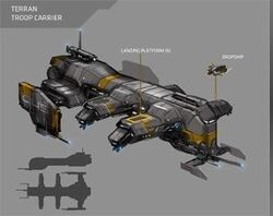 Terran ship carrier
