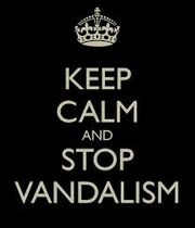 Stop Vandalisim