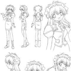 Milfeulle Anime Concept Art 5