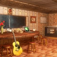Kazuya's room