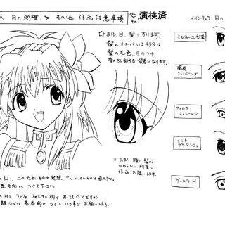 Milfeulle Anime Concept Art