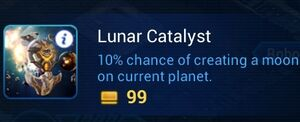 Lunar Catalyst