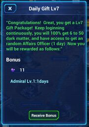 Daily Gift Lv7