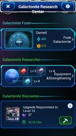 Galactonite Research Center A