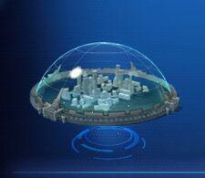 New Small Shield Dome