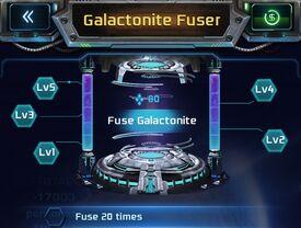 New Galactonite Fuser