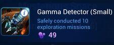 Gamma Detector (Small)
