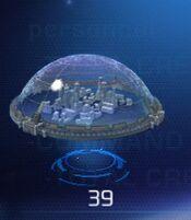 Large Shield Dome Error
