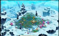 Blue colony