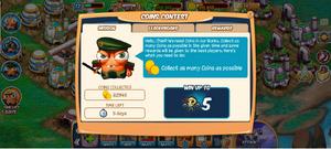 Coincontest message1