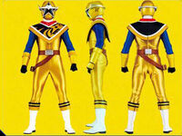 Gold Ninja Steel Ranger Form