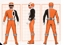 SPD Orange Ranger Form